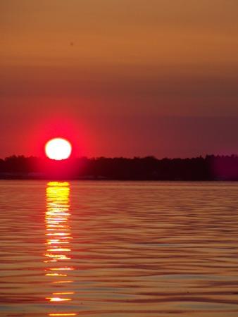 june-sunset