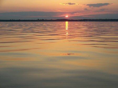 June sunset 2010